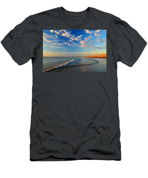 Sweeping Ocean View Men's T-Shirt (Slim Fit) by Dianne Cowen