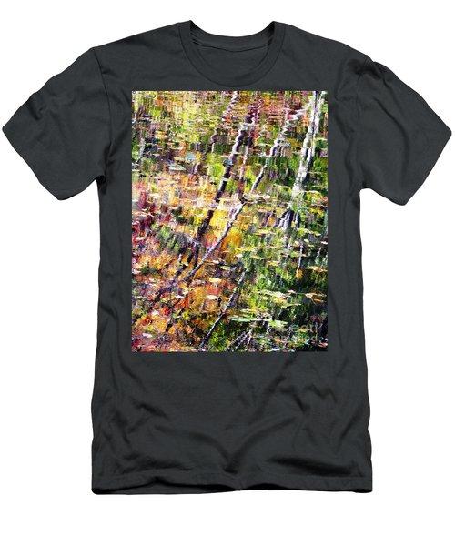 Raking Water  Men's T-Shirt (Slim Fit) by Melissa Stoudt