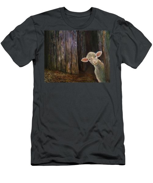 Sweet Lamb Men's T-Shirt (Athletic Fit)