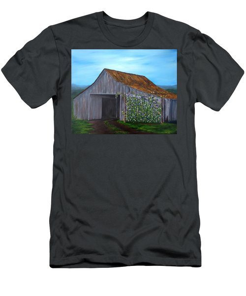 Sweet Peas Men's T-Shirt (Slim Fit) by T Fry-Green