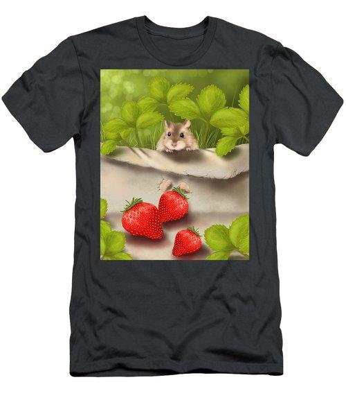 Sweet Surprise Men's T-Shirt (Athletic Fit)