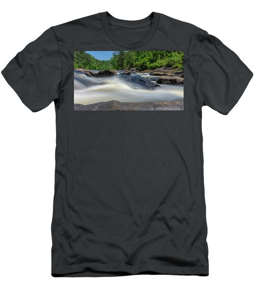 Sweetwater Creek Long Exposure Men's T-Shirt (Athletic Fit)
