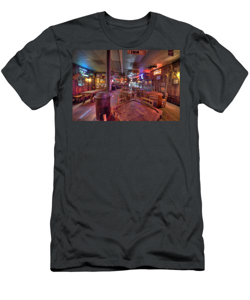 Swinging Doors At The Dixie Chicken Men's T-Shirt (Athletic Fit)