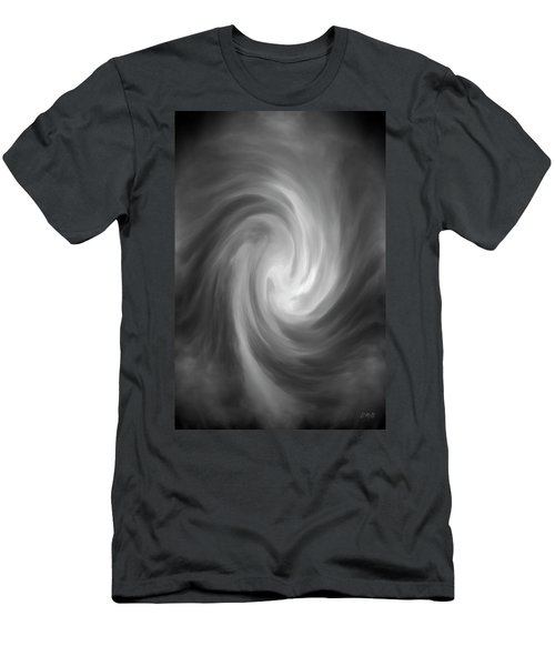Men's T-Shirt (Athletic Fit) featuring the photograph Swirl Wave Iv by David Gordon