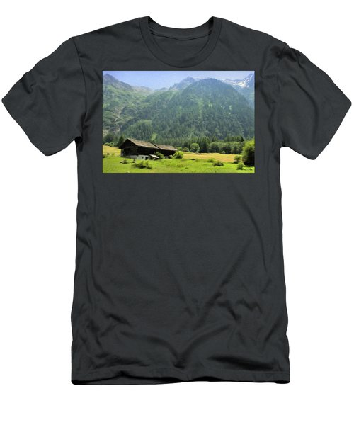 Swiss Mountain Home Men's T-Shirt (Athletic Fit)