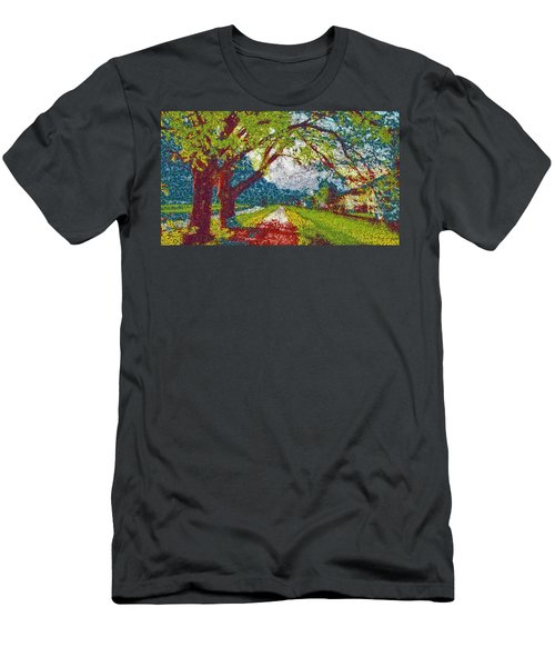 Swiss Village Stroll Men's T-Shirt (Athletic Fit)