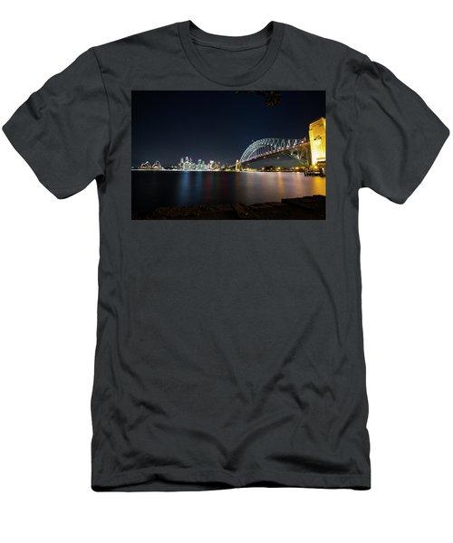 Sydney Harbour Silk Men's T-Shirt (Athletic Fit)