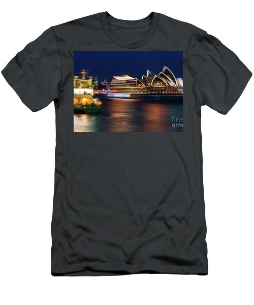 Sydney Night Life Men's T-Shirt (Athletic Fit)