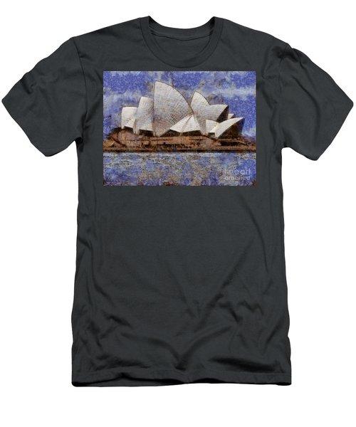 Sydney Opera House Men's T-Shirt (Athletic Fit)