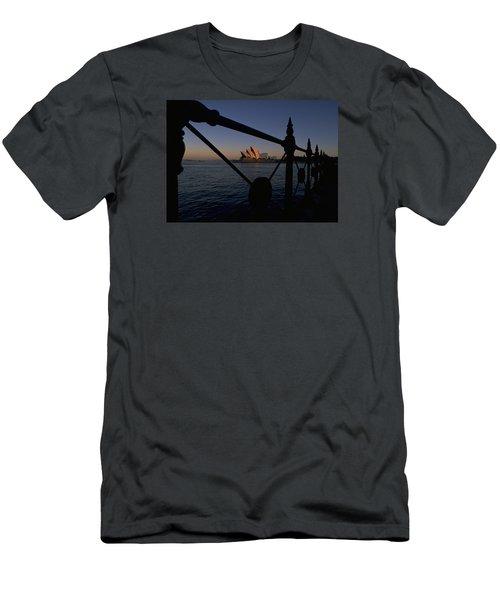 Sydney Opera House Men's T-Shirt (Slim Fit) by Travel Pics