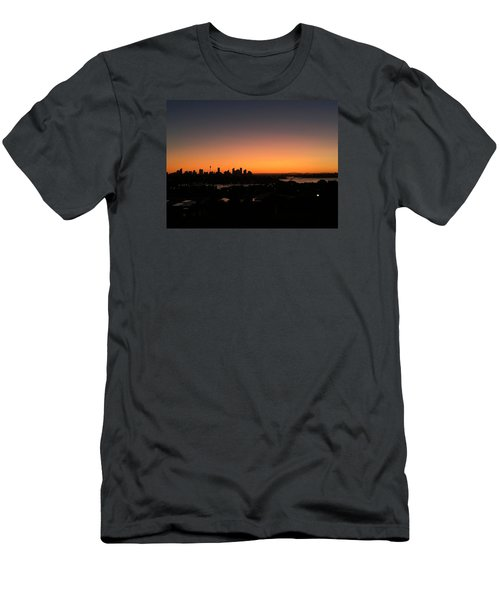 Sydney Skyline Men's T-Shirt (Slim Fit) by Scarlett Bieri
