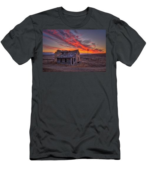 Men's T-Shirt (Athletic Fit) featuring the photograph Sylvan Grove Sunrise by Darren White