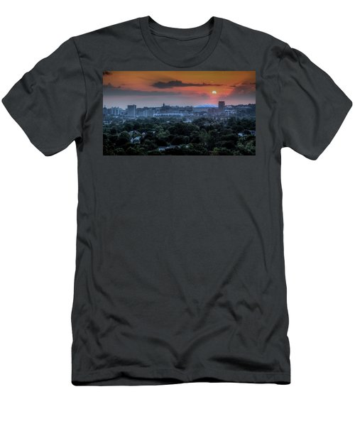 Syracuse Sunrise Men's T-Shirt (Slim Fit) by Everet Regal