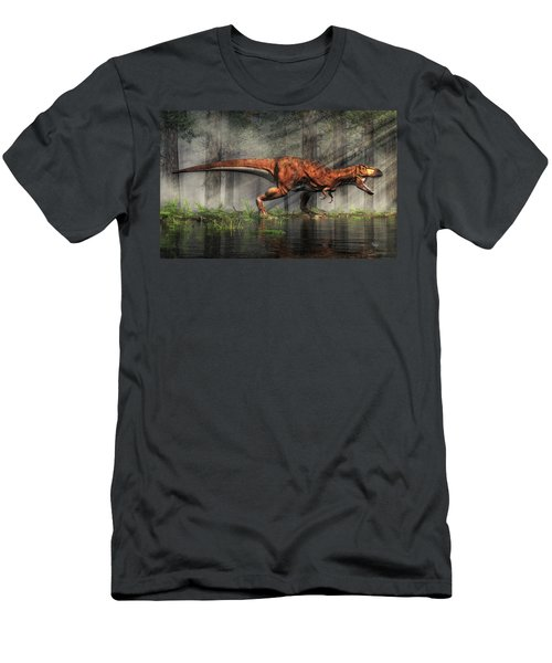 T-rex Men's T-Shirt (Athletic Fit)