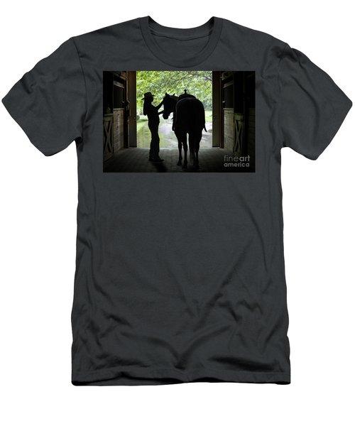 Tackin' Up Men's T-Shirt (Slim Fit) by Nicki McManus