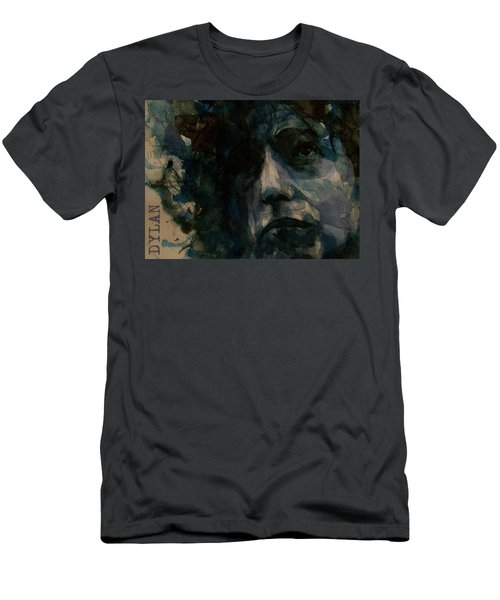 Tagged Up In Blue- Bob Dylan  Men's T-Shirt (Athletic Fit)