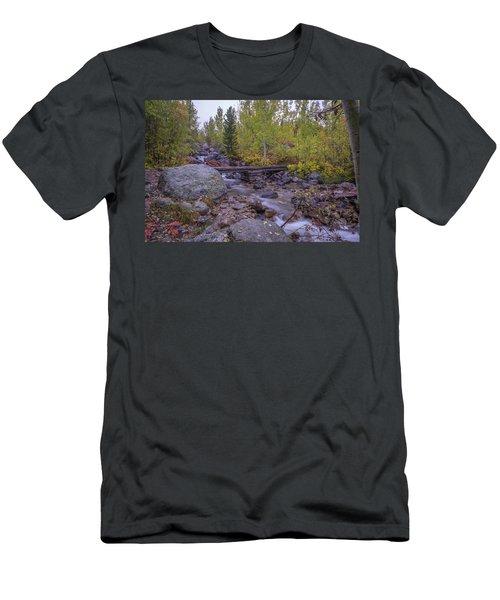 Taggert Creek Waterfall Men's T-Shirt (Athletic Fit)