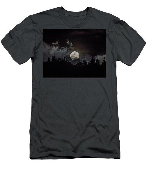 Tahoe Moon Cloud Men's T-Shirt (Athletic Fit)