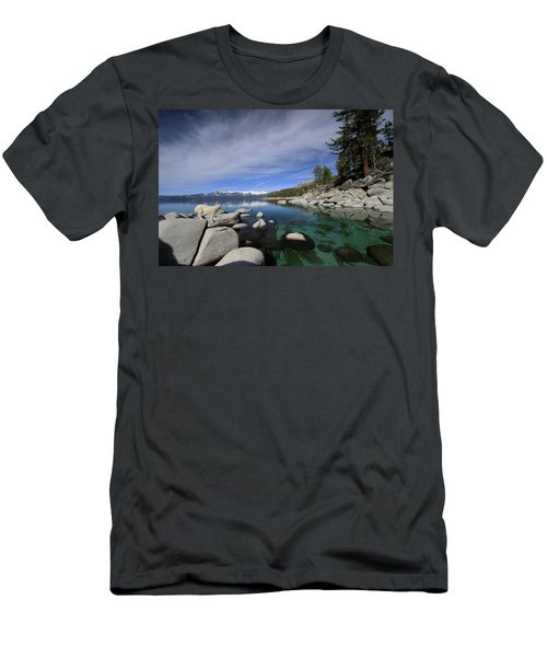 Tahoe Wow Men's T-Shirt (Athletic Fit)