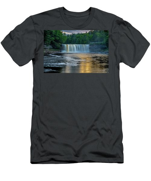 Tahquamenon Falls Men's T-Shirt (Athletic Fit)