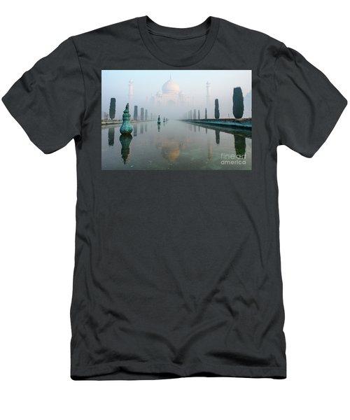 Taj Mahal At Sunrise 01 Men's T-Shirt (Athletic Fit)
