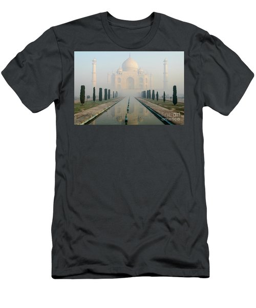 Taj Mahal At Sunrise 02 Men's T-Shirt (Athletic Fit)