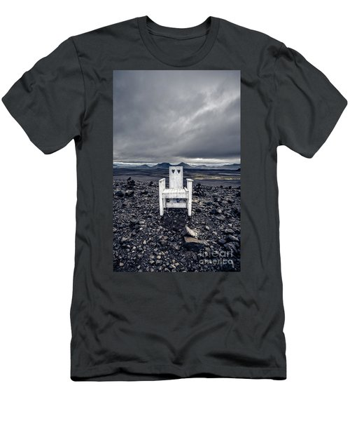 Men's T-Shirt (Athletic Fit) featuring the photograph Take A Seat Iceland by Edward Fielding