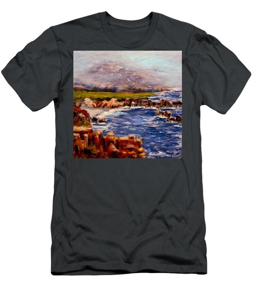 Take Me To The Ocean,, Men's T-Shirt (Slim Fit) by Cristina Mihailescu