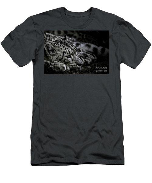 Taking A Break Men's T-Shirt (Slim Fit) by Brad Allen Fine Art