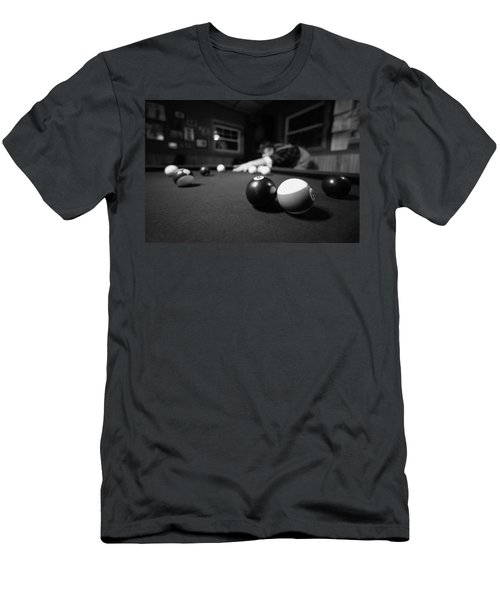Taking His Shot Men's T-Shirt (Athletic Fit)