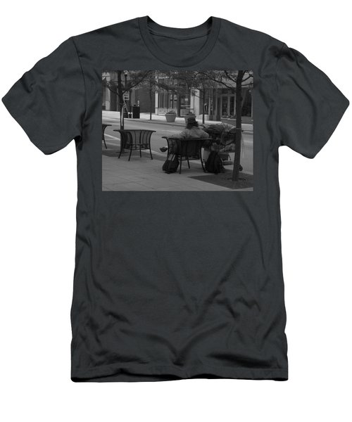 Men's T-Shirt (Athletic Fit) featuring the photograph Taking It Easy by Michael Colgate