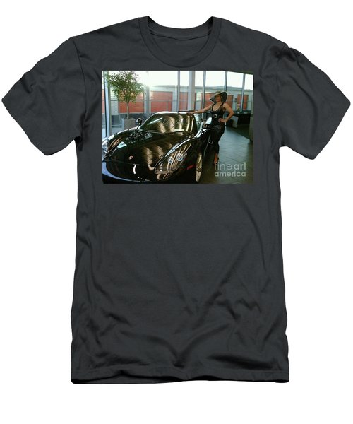 Talisa Hartleys Sports Cars And Big Muscles Men's T-Shirt (Athletic Fit)