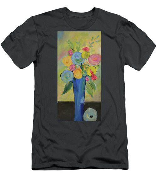 Tall Floral Order Men's T-Shirt (Athletic Fit)