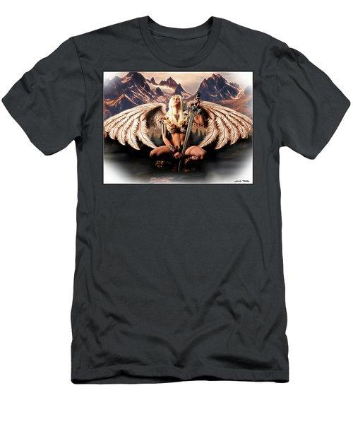 Talon Of The Hawk Woman Men's T-Shirt (Athletic Fit)