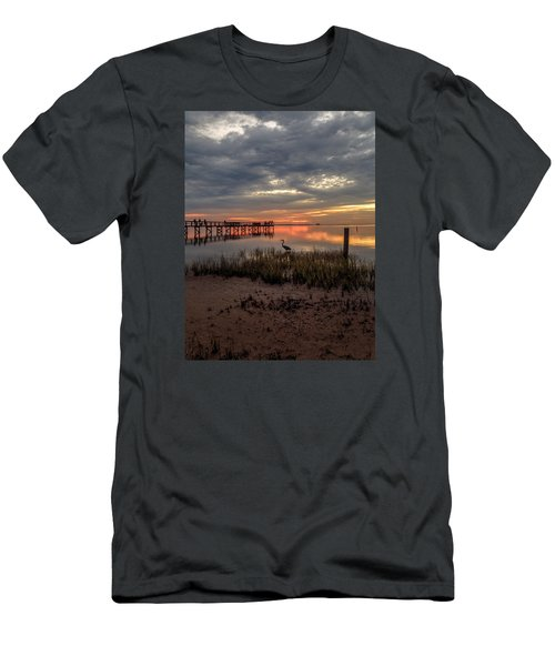 Men's T-Shirt (Slim Fit) featuring the photograph Tampa  by Anthony Fields