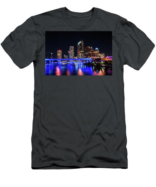 Tampa Skyline Men's T-Shirt (Slim Fit) by Steven M