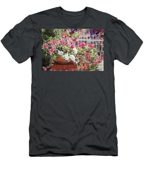 Tangled Terra Cotta Pot Men's T-Shirt (Athletic Fit)