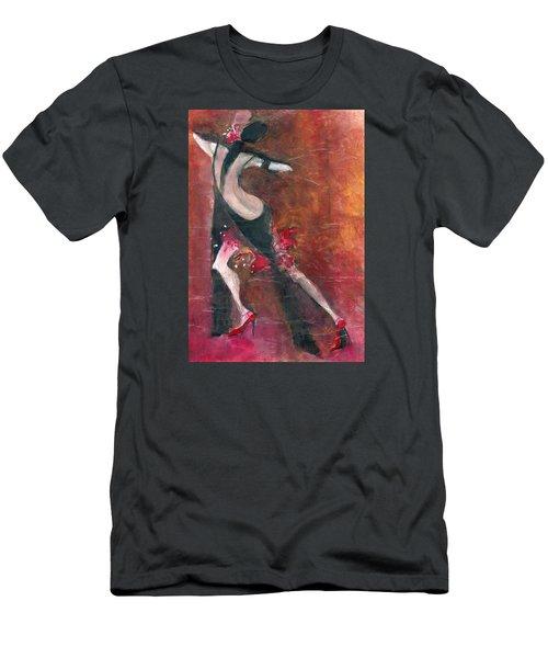 Tango Men's T-Shirt (Slim Fit) by Maya Manolova