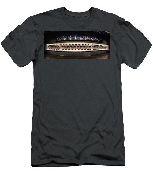 Men's T-Shirt (Slim Fit) featuring the photograph Tank Wall by Randy Scherkenbach