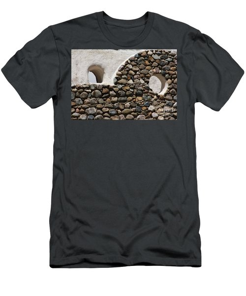 Men's T-Shirt (Slim Fit) featuring the photograph Taos Texture by Brian Boyle