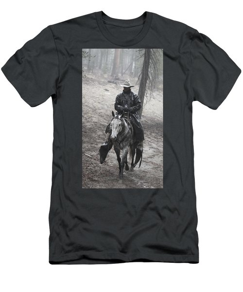 Tapadero Cowboy Men's T-Shirt (Athletic Fit)