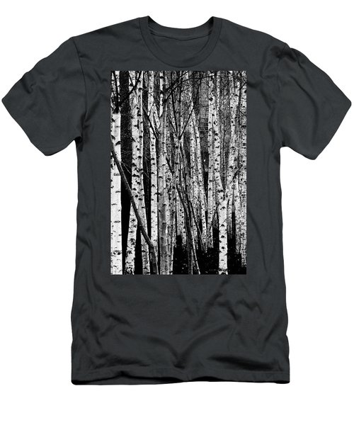 Men's T-Shirt (Athletic Fit) featuring the digital art Tate Willows by Julian Perry