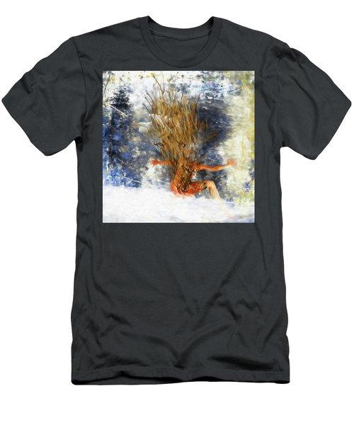 Tatoo Bird Men's T-Shirt (Athletic Fit)