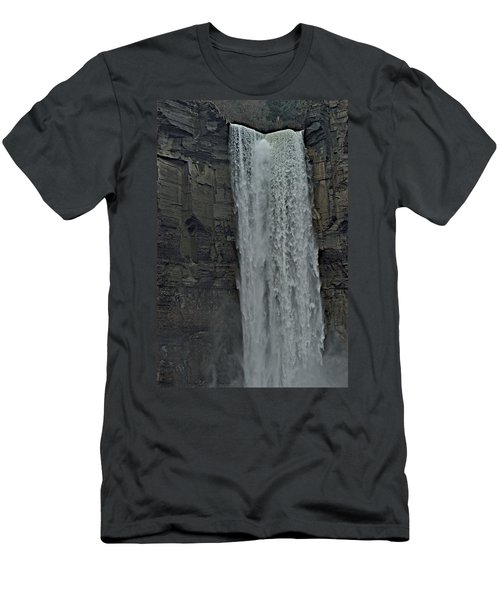 Taughannock Falls State Park Men's T-Shirt (Athletic Fit)