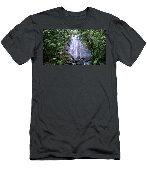 Te Miro, Me Da Frio Men's T-Shirt (Athletic Fit)