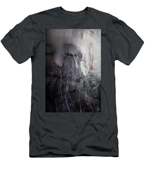 Tears Of Ice Men's T-Shirt (Slim Fit) by Gun Legler