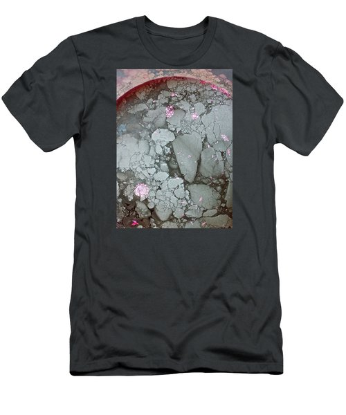 Men's T-Shirt (Athletic Fit) featuring the photograph Tectonic With Sky Above And Below by Cliff Spohn