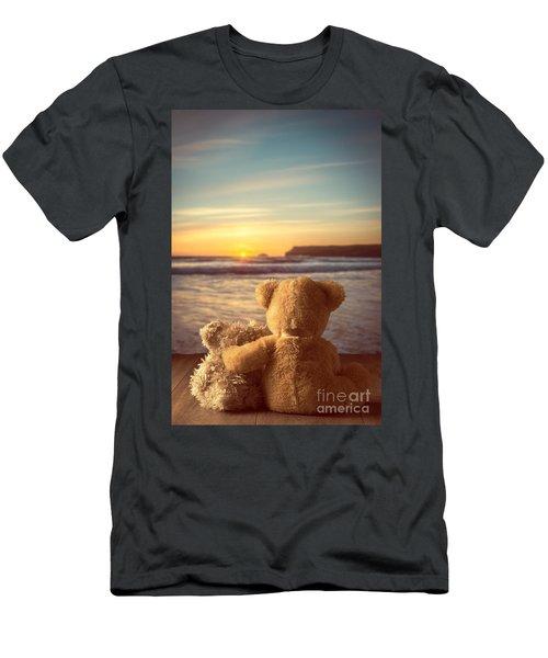 Teddies At Sunset Men's T-Shirt (Athletic Fit)