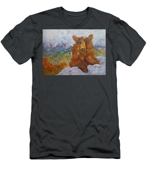 Teddy Wakes Up In The Most Desireable City In The Nation Men's T-Shirt (Athletic Fit)
