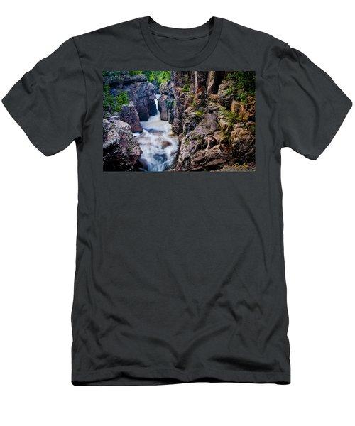 Temperance River Gorge Men's T-Shirt (Athletic Fit)